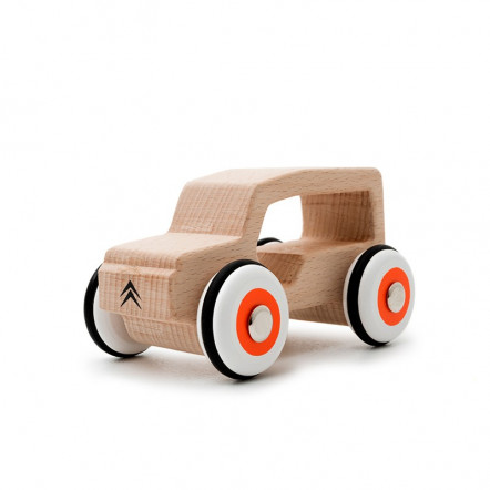 Little wooden car Méhari Citroën Origins