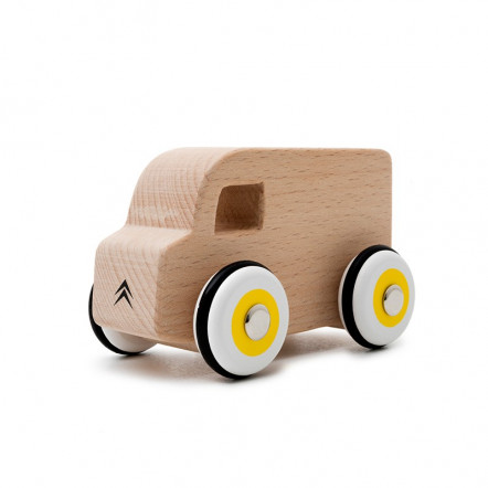 Little wooden car Type H Citroën Origins