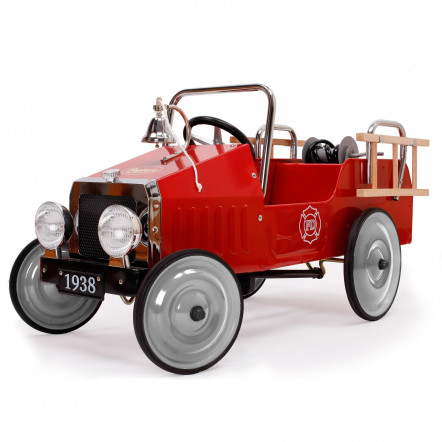 Baghera Fire Truck pedal car red