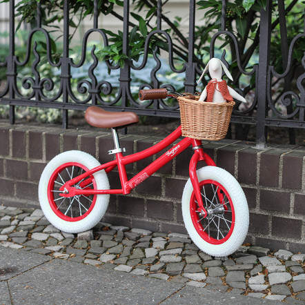 Vintage Red Balance Bike Baghera