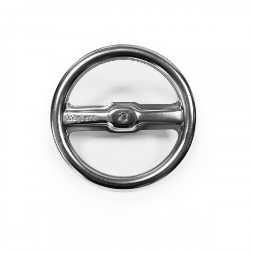 Metal steering wheel