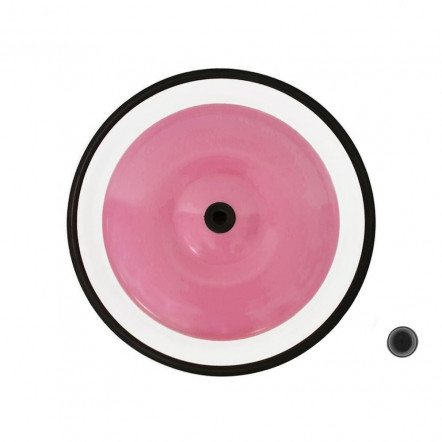 Pink front wheel 8""