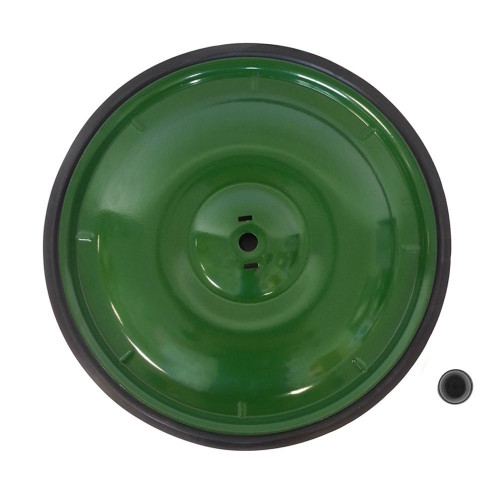 Green rear wheel drive 10""
