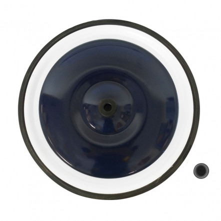 Blue back wheel 10""