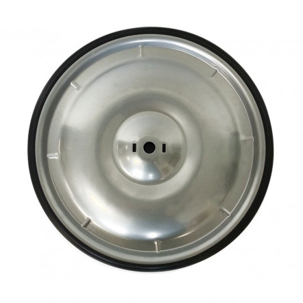 Grey rear drive wheel 10""
