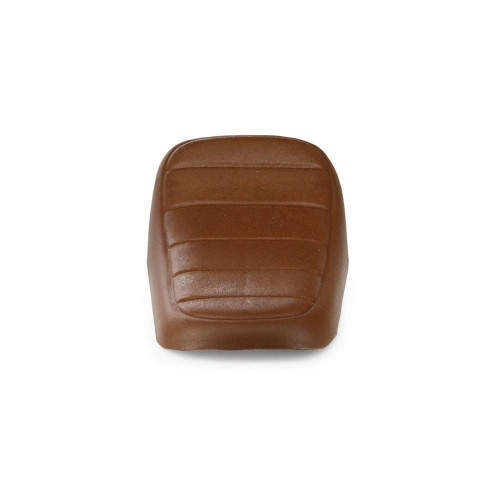 Brown plastic seat
