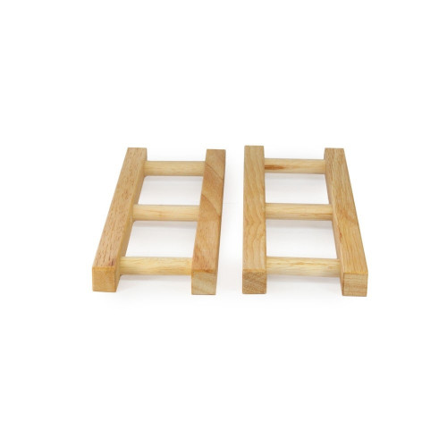 Wooden Ladders (batch of 2)