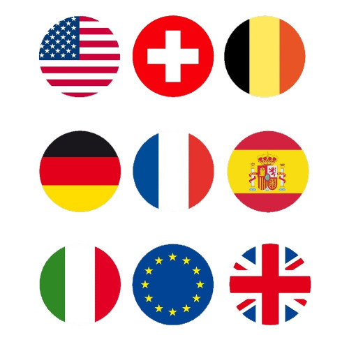 Stickers - flags