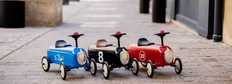 Racers Baghera metal ride-ons for baby from 1 year old